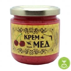 Крем-мед (вишня)