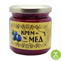 Крем-мед c черникой 250гр/175 мл