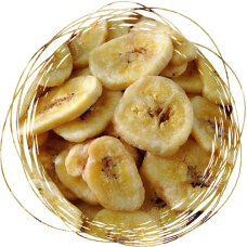 Банан сублимированный слайс 100 гр