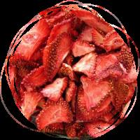 Клубника сублимированная кусочек (2-5 мм) 100 гр