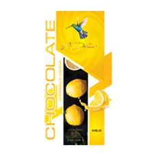 Шоколад молочный с ликером «Лимончелло», 90г