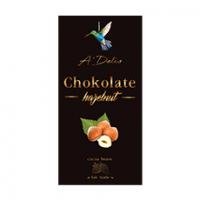 Шоколад «Chokolate» 56% черный с цельным лесным орехом