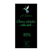 Шоколад экстрачерный 85%, 90г
