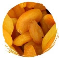 Сублимированный абрикос  кусочек 10х10 100 гр