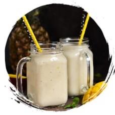 Йогурт сублимированный с ананасом