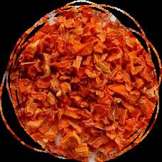Морковь сублимированная кубик (5х5 мм) 100 гр