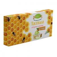 Пастила на меду яблочная классическая 210 гр